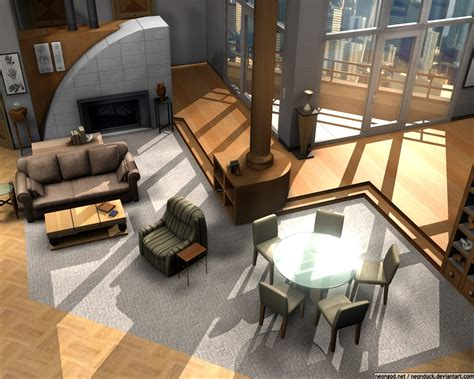 frasier apartment floor plan floor plans of homes from tv shows