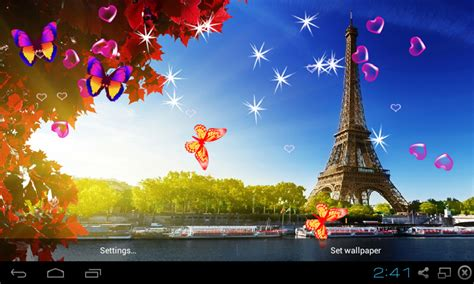 eiffel tower  wallpaper apk