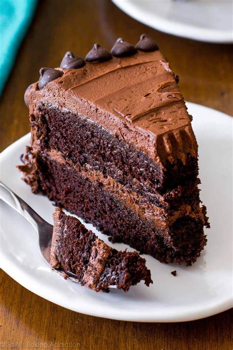 Chocolate Cakes by Chocolate Layer Cake Sallys Baking Addiction