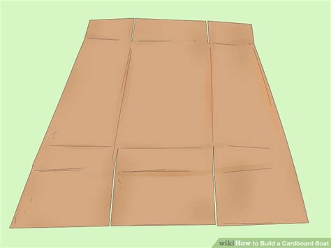 cardboard boat test how to build a cardboard boat 13 steps wikihow