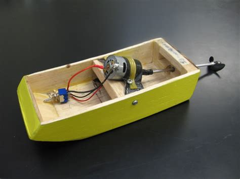 electric motor boat project information cardboard boats physics boat race electric motorboat