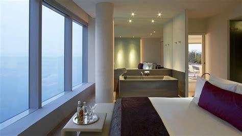 w hotel bathroom bath bed views w hotel barcelona by ricardo bofill