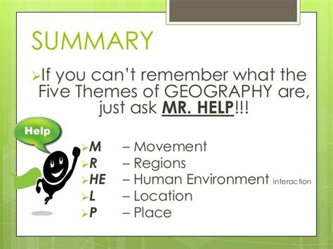 themes of geography perception geography
