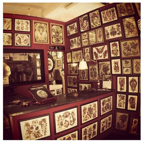 tattoo parlour shop interior design ideas studio design