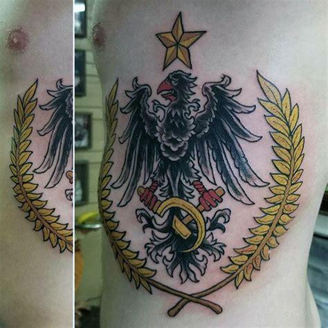 eagle rib cage tattoo 50 german eagle tattoo designs for men germany ink ideas