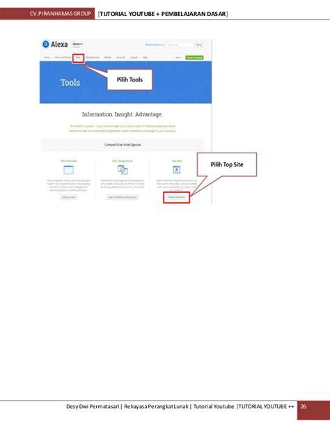 tutorial youtube marketing tutorial youtube bisnis online internet marketing