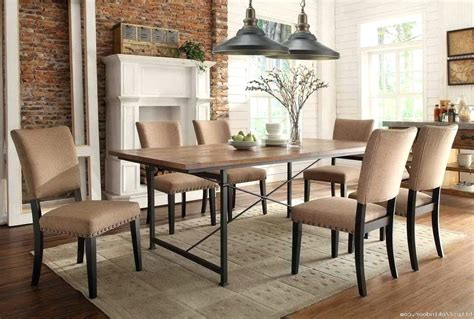 metal dining room furniture dining chairs rustic industrial dining room chairs metal