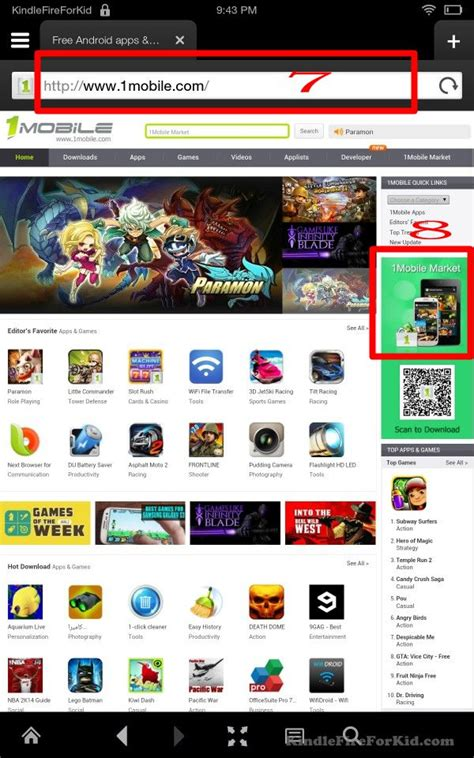 1mobile market apk for kindle how to sideload android apps in kindle kindle