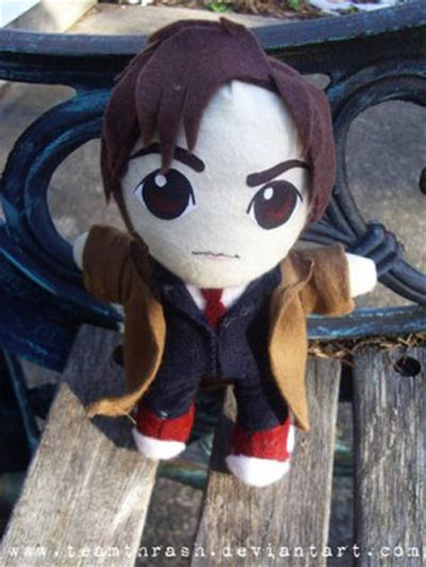Gadgets Get Plush Treatment by Tenth Doctor Chibi Crafts