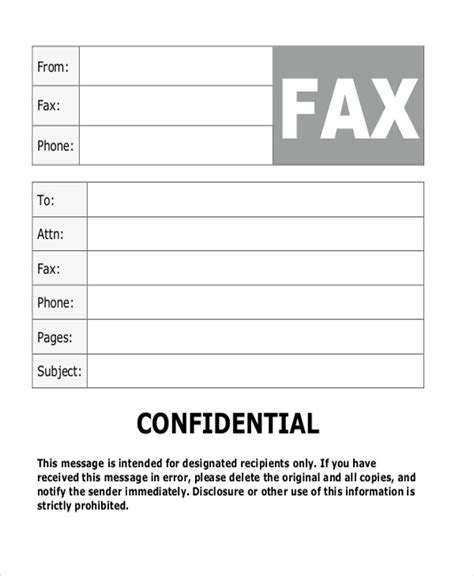 fax cover sheet confidential gse bookbinder co