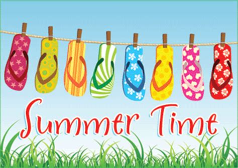 summer template free colorful flip flops summer time ebay template free