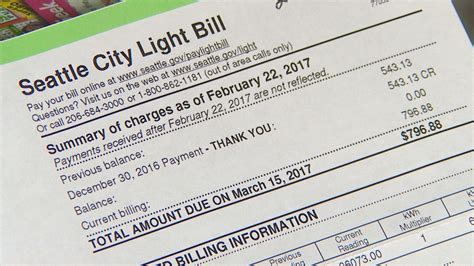 seattle light pay bill king5 com city light customers complain of exorbitant