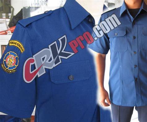 baju pdh seragam pakaian dinas harian damkar diskar