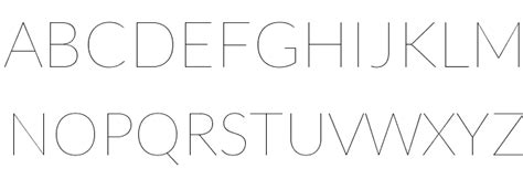 typography hairline lato hairline font