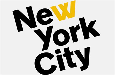 graphic design event new york it s nice that new york city tourism agency rebranded