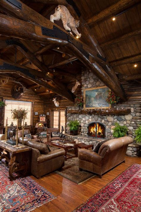 log cabins a interior design