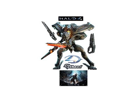 halo wall stickers halo wall decal shop fathead 174 for halo decor