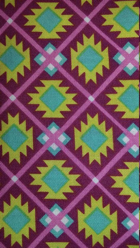 Tribal Print Quilt by Tribal Print Fabric Print Fabric Per By