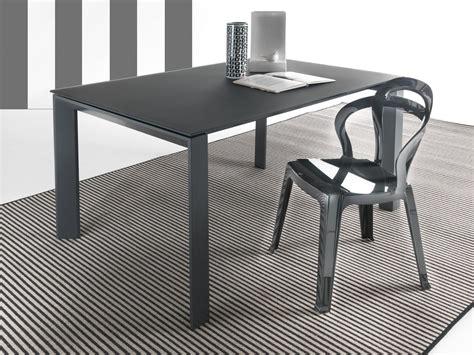 tavoli in vetro per cucina tavolo in vetro allungabile harvey per cucina o soggiorno