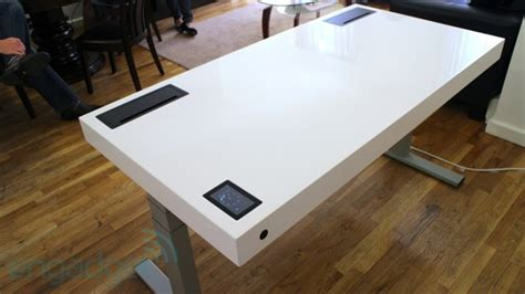 stir s kinetic desk is a standing desk that learns your