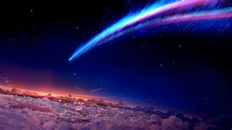 name backgrounds space anime your name wallpapers hd desktop and