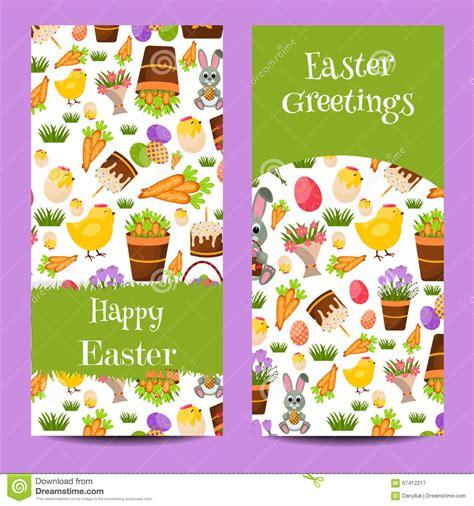 Happy Bunny Set Medium happy easter rabbit bunny set of banners vector cartoondealer 29603473