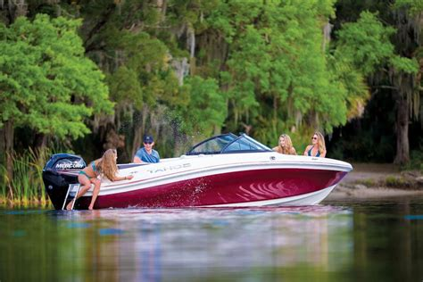 tahoe boats black cherry hot boats coming to the miami international boat show