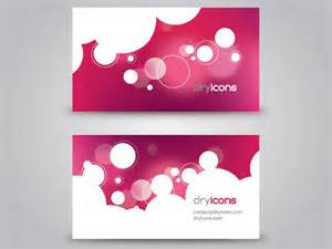 50 free business cards templates vector and psd files
