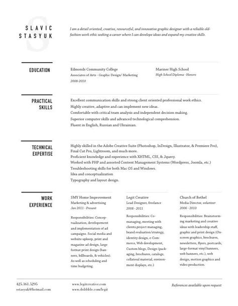 Well Designed Resumes by 21 Best Well Designed Resumes Images On Resume