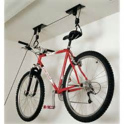 hoist bike storage rack in ceiling bike storage