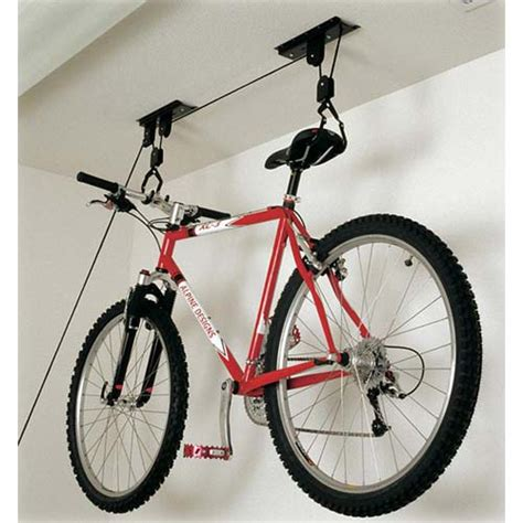 Bike Racks For Garage Ceiling by Hoist Bike Storage Rack In Ceiling Bike Storage