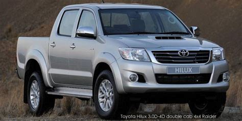 New Toyota Hilux 2.5D 4D double cab Raider cars for sale