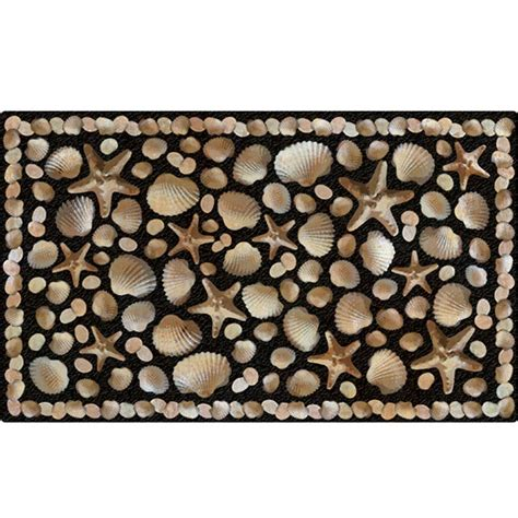 Recycled Door Mats Apache Mills Seaside 18 In X 30 In Recycled Rubber Door