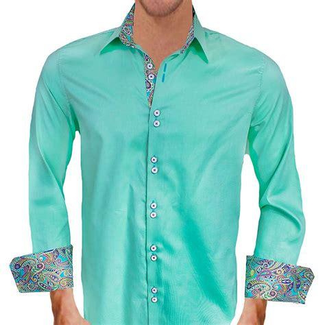 light green dress shirt mint green casual dress shirts