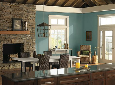 great outdoors blue color room