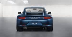 Porsche 911 Rear New Porsche 911 Porsche 991 In Details Porsche Review