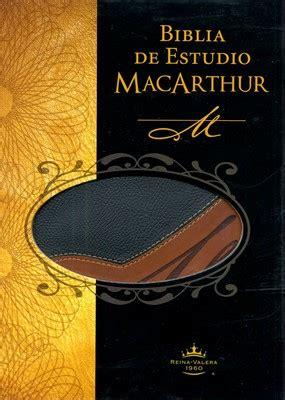 biblia de estudio macarthur rvr 1602559392 biblia de estudio macarthur reina valera 60