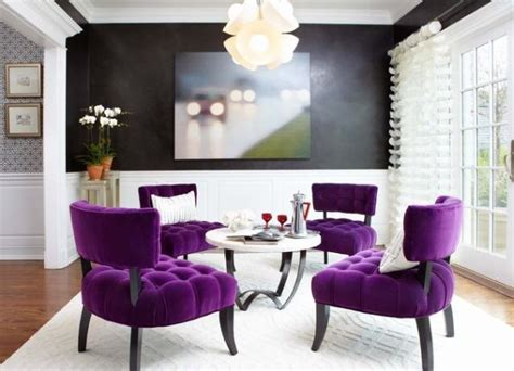 purple and black room purple rooms and interior design inspiration