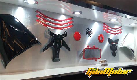 Dudukan Plat Nomor Motor Khusus Honda Ori Bukan Imitasi ini ragam aksesoris resmi honda all new cb150r gilamotor