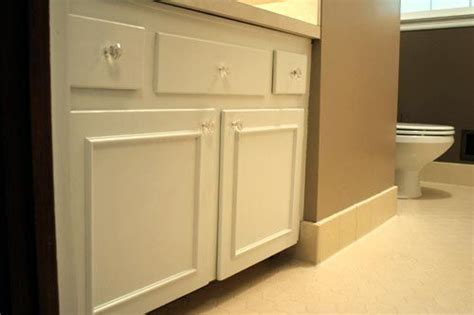 Diy New Molding For An Old Vanity Moldings Cabinets Cabinet Door Trim
