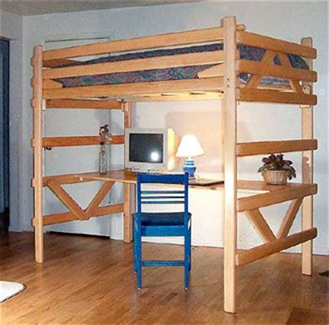 Wood Loft Bed With Desk Underneath by 1000 Images About Loft Bed With Desk Underneath On