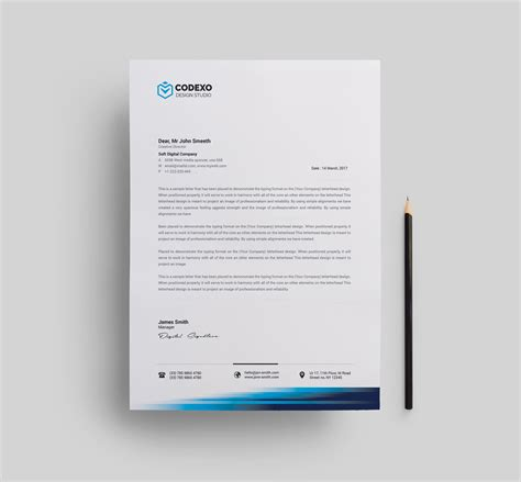 corporate letterhead templates 1 template catalog