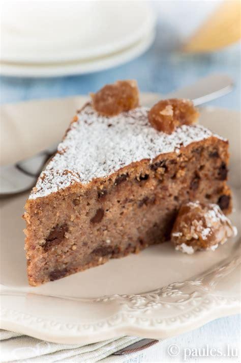 bei wieviel grad kuchen backen maronikuchen mit schokolade rezepte backen