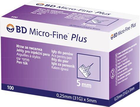 Bd Micro 5mm homepoland news information bd micro fine plus 5mm istotne zmniejszenie ryzyka
