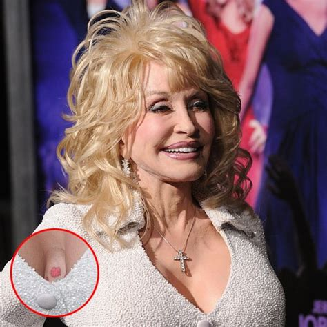 dolly parton the latest celebrity tattoos popsugar
