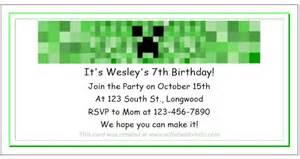 Minecraft party ideas for kids birthday themes minecraft