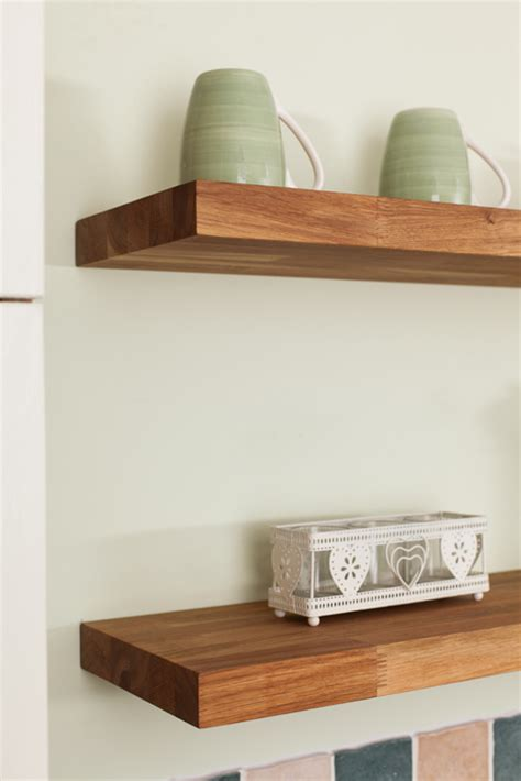 oak bathroom shelves wooden kitchen shelves gallery worktop express