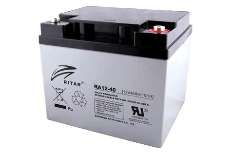 Baterai Ritar ritar power ra 12 40 baterias ritar power en per 250