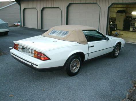 camaro berlinetta 1984 1984 chevy camaro berlinetta for sale autos post