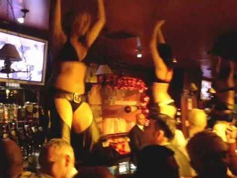 Bar Dancers doing it Coyote Ugly style at Buffalo Joe's ...